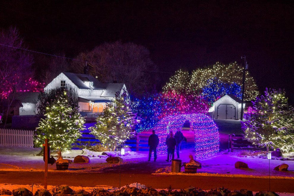 Trail of Lights Chatfield Farms