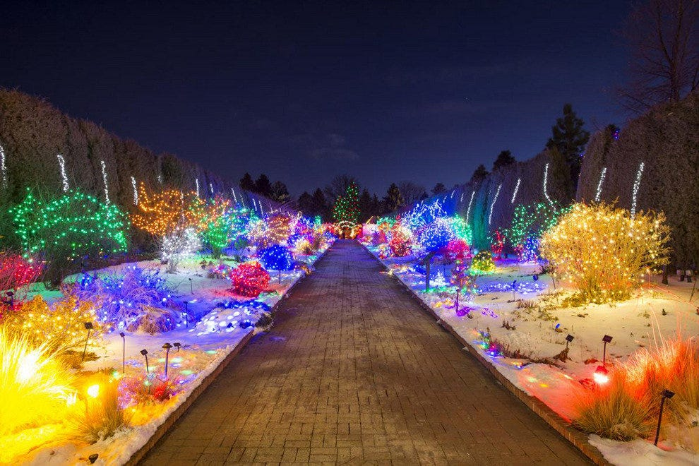 Blossoms Of Light Denver Botanic Gardens Nice Design