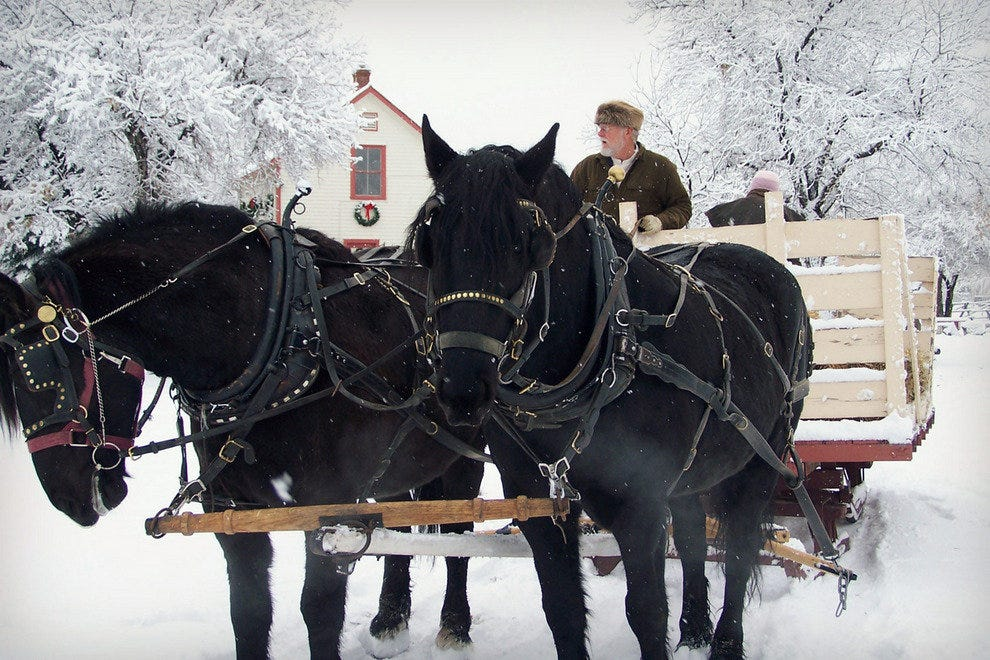A Colorado Christmas Four Mile Historic Park