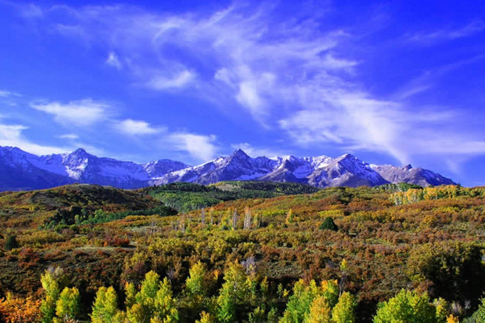 "Ouray, Colo., is sometimes referred to as the ""Gem of the Rockies"""
