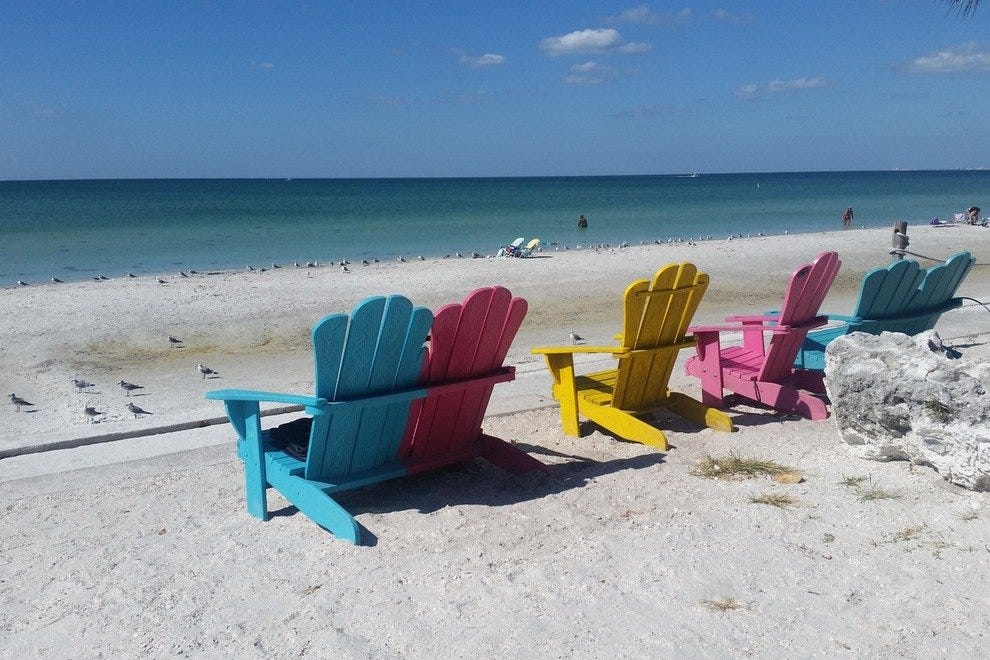 P A Grille Beach St Petersburg Clearwater Attractions Review