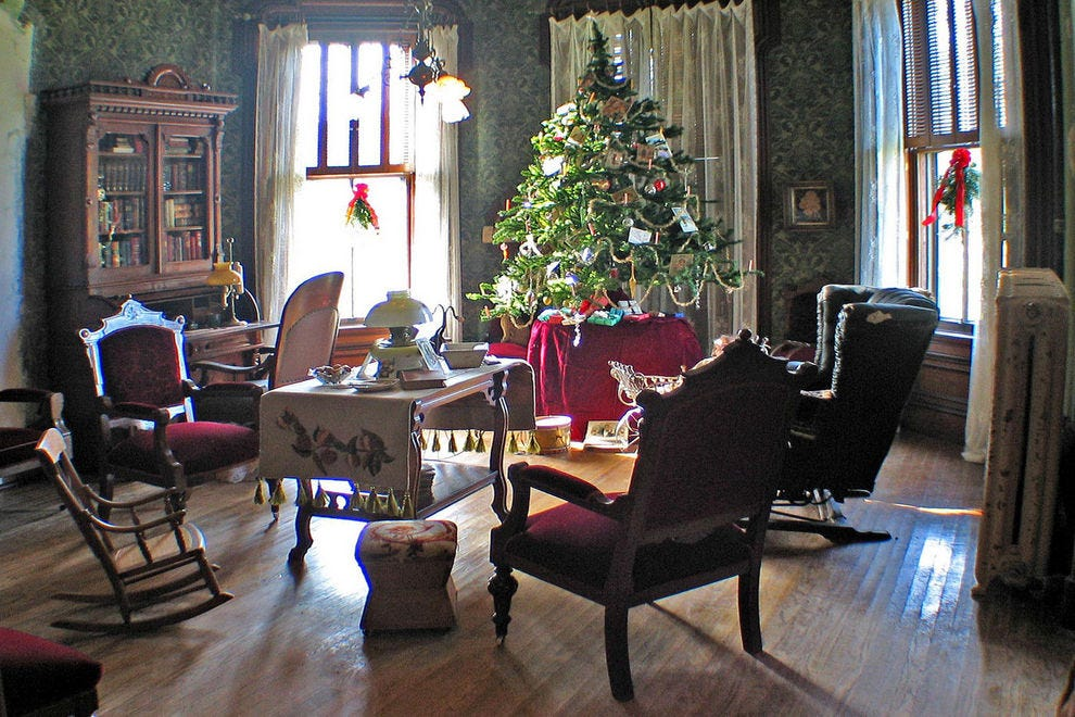 The Cappon House offers a Christmas tea