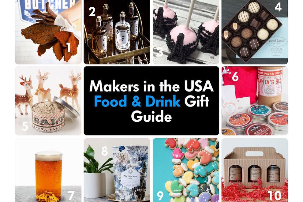Handcrafted Holidays: Gift Guide for Food and Drink