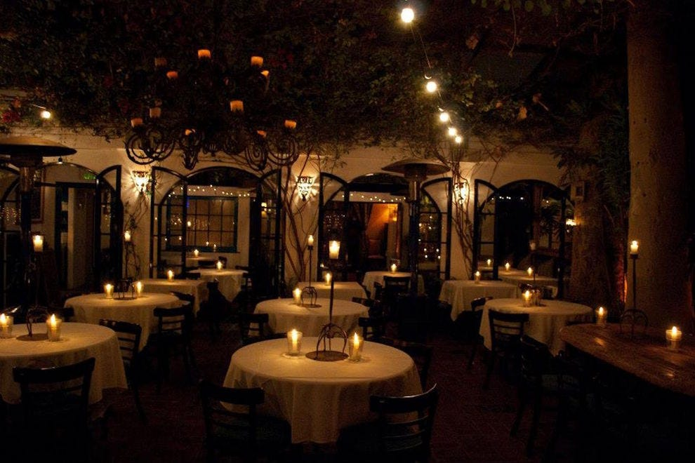 The little door los angeles restaurants review 10best for Romantic restaurants in california