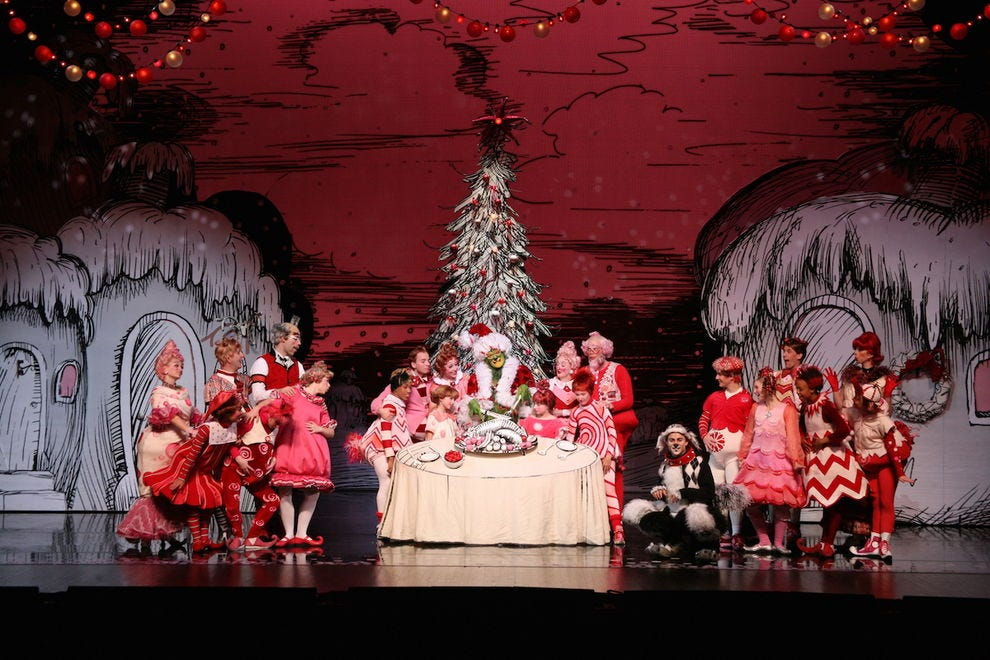 """Dr. Seuss' How the Grinch Stole Christmas! The Musical"" at the Grand Ole Opry"