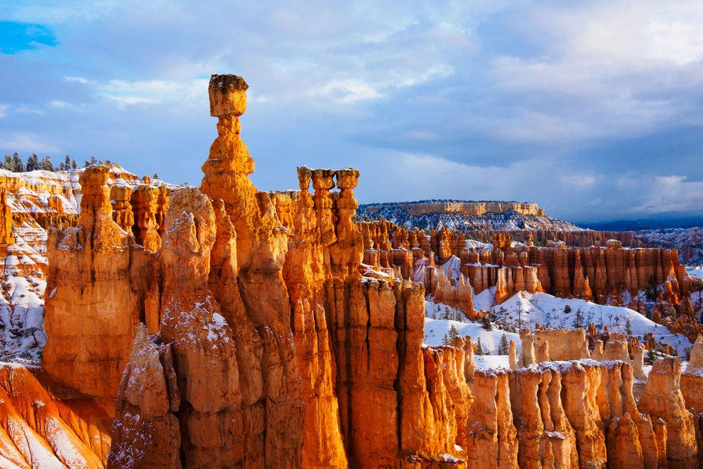 Did you know how beautiful national parks are in winter?