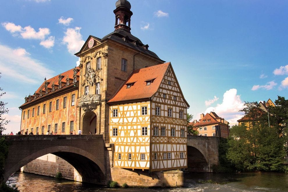 "Bamberg, the ""Franconian Rome"" Built on Seven Hills"