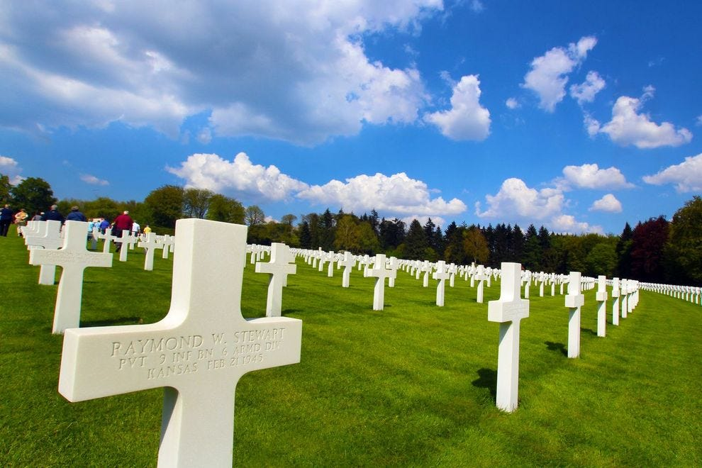 A Poignant Visit to the Luxembourg American Cemetery
