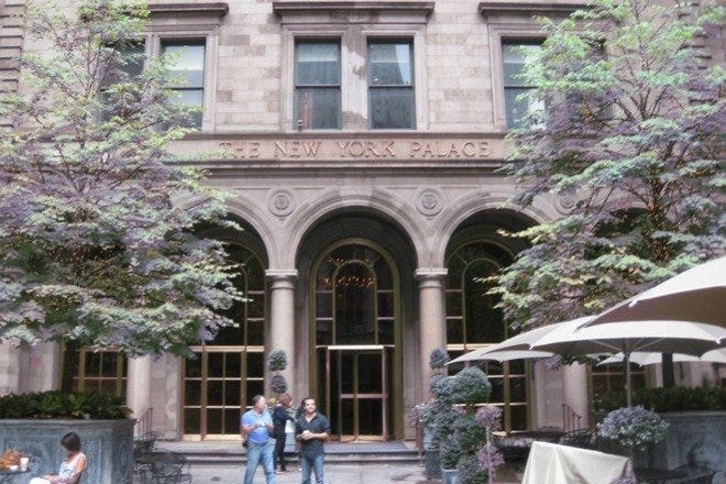 The Villard Houses at the New York Palace Hotel
