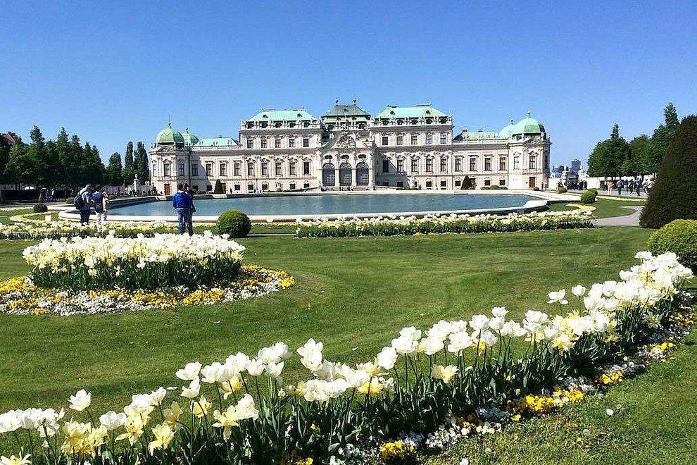 Дворец Бельведер Достопремечательности Вены Достопремечательности Вены Vienna Belvedere Palace 54 990x660