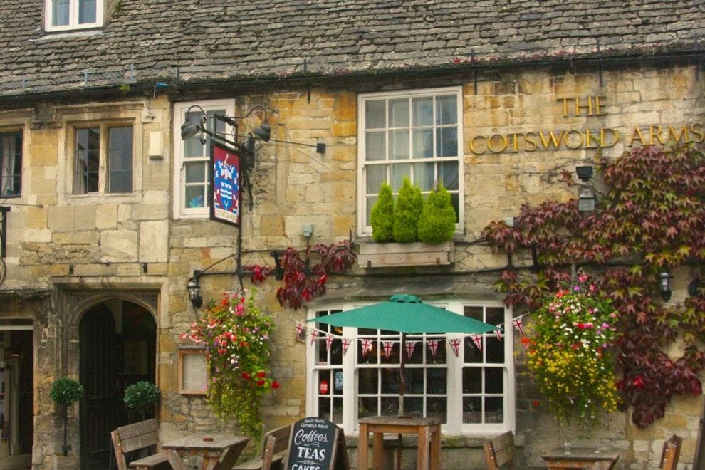 You'll have no trouble finding real ales at Cotswold pubs such as the Cotswold Arms in Burford