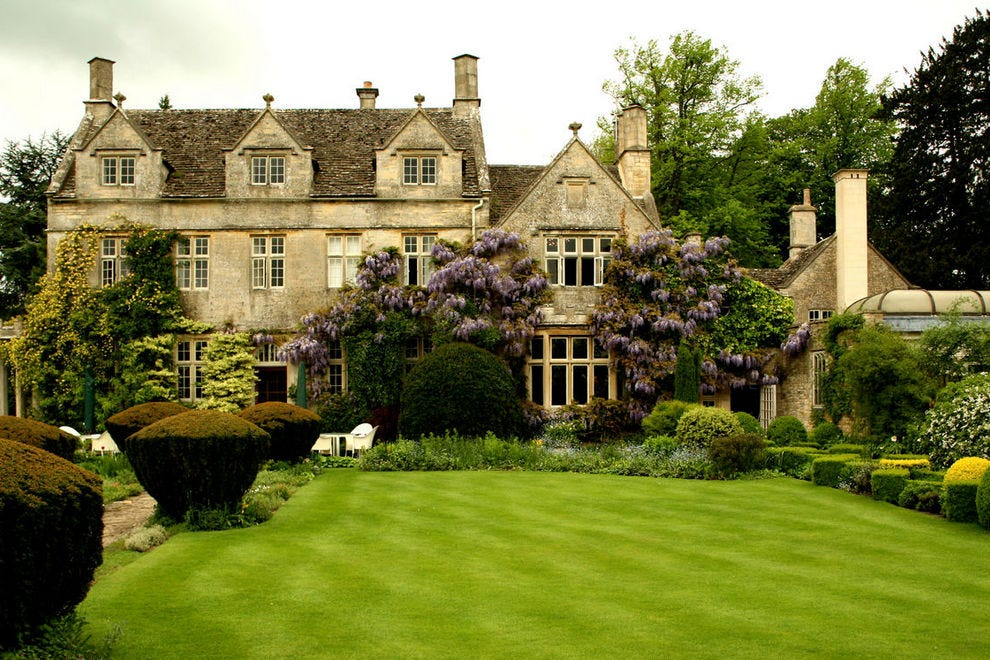 Barnsley House in Cirencester is a country manor with a famous garden
