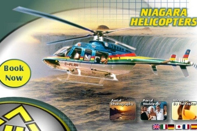Photo courtesy of Niagara Helicopters