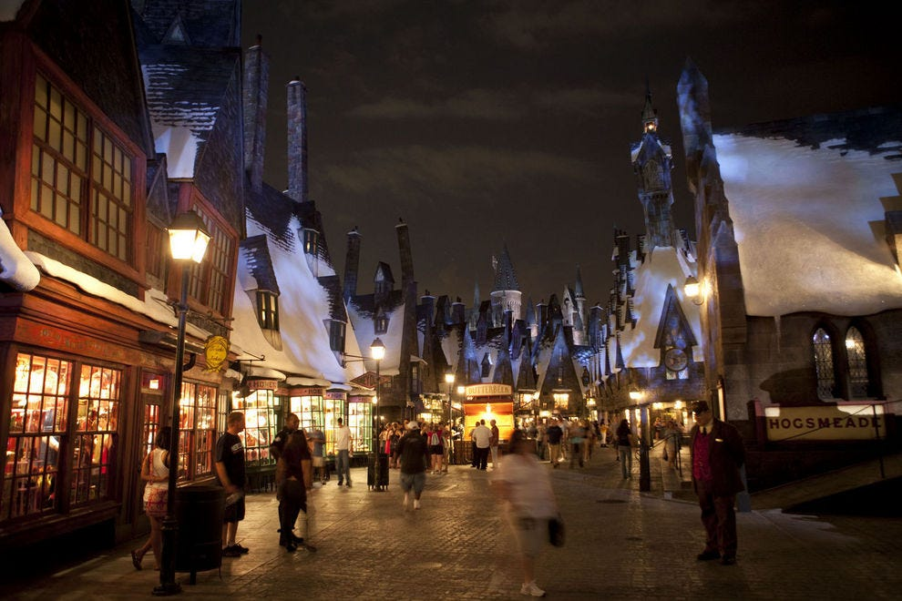 Hogsmeade at Universal's Islands of Adventure