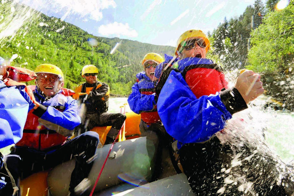 Whitewater rafting on Montana's Gallatin River