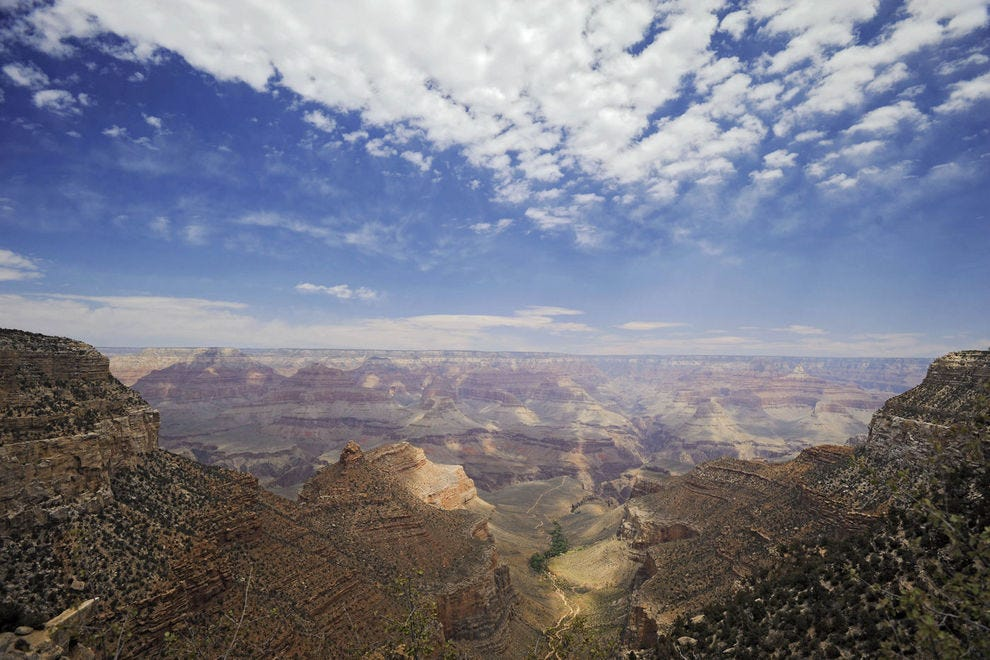 AbD guests picnic with a view of the Grand Canyon