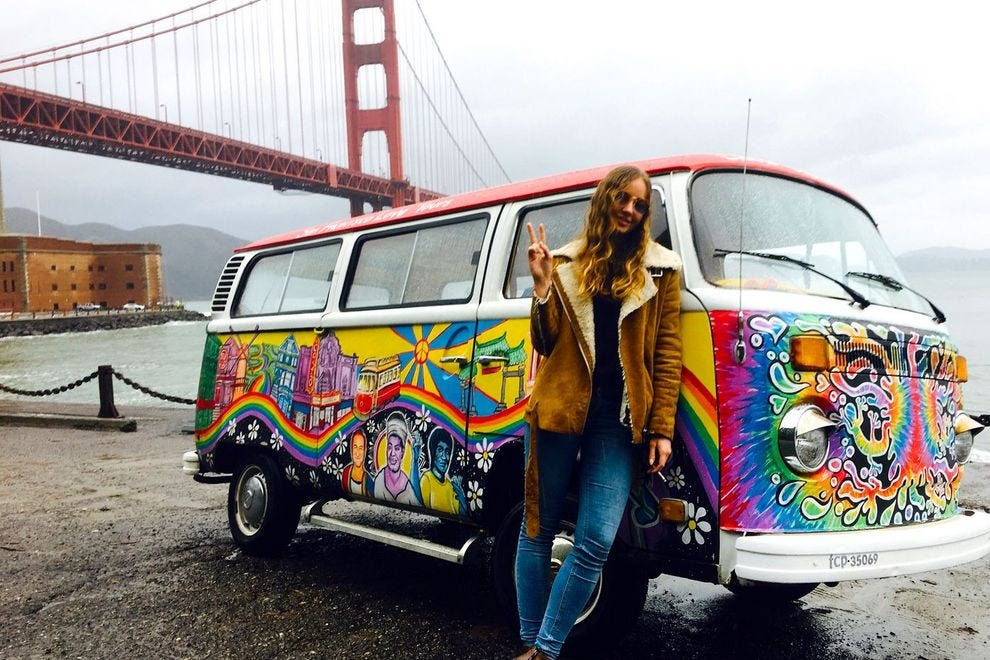 Explore the city with '60s-inspired San Francisco Love Tours