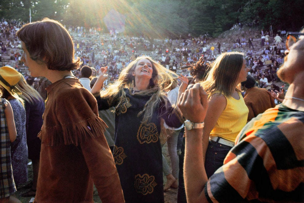 The concert at Fantasy Fair, photographed by Elaine Mayes, was one of many euphoric Summer of Love events