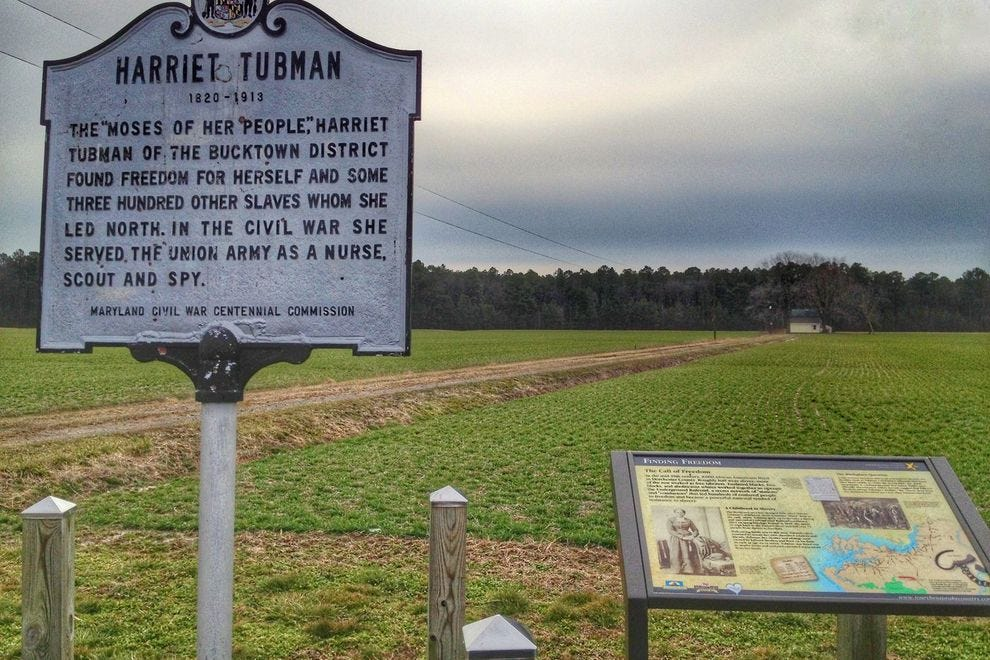 10 things you have to see in Harriet Tubman's birthplace