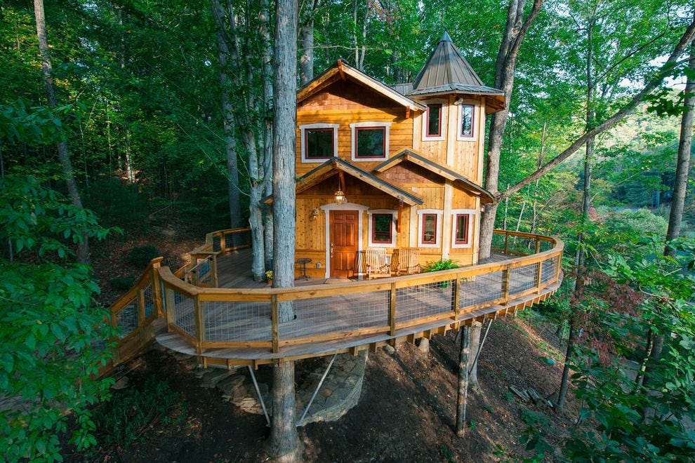 You 39 Ll Want To Spend The Night In These 10 Treehouses