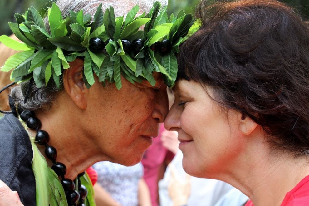 Youll never forget this amazing boutique cruise through the experience an ancient hawaiian greeting m4hsunfo