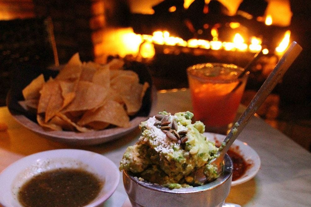 Savor modern Latin cuisine in an Old Town setting