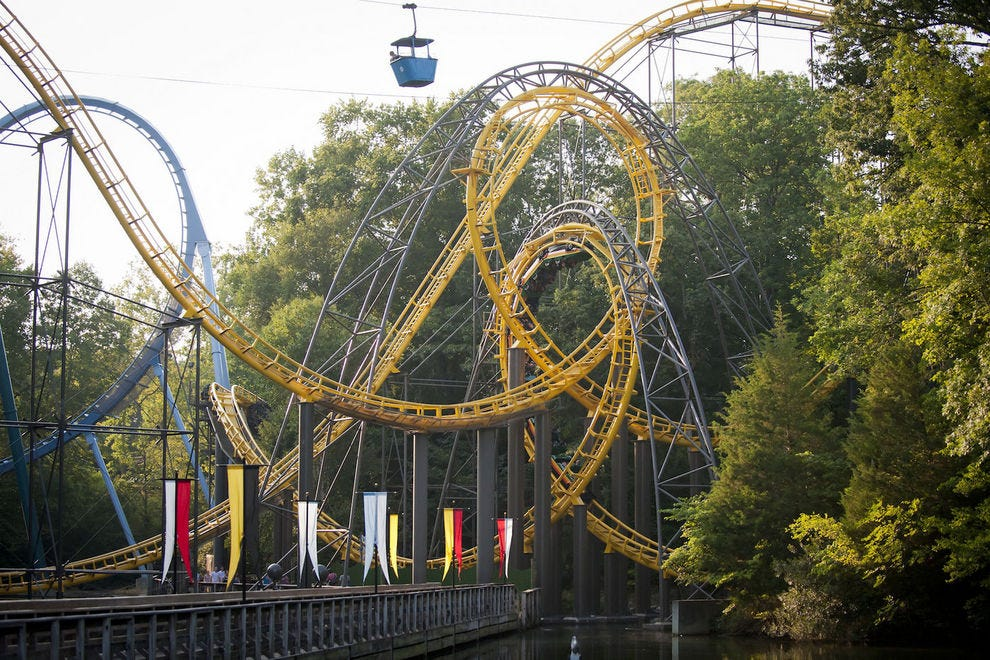 Best amusement park winners 2017 10best readers 39 choice - Busch gardens williamsburg rides ...