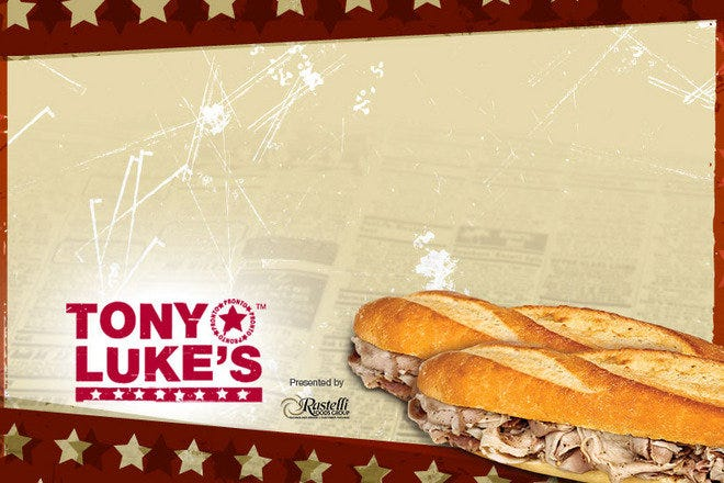 Photo courtesy of Tony Luke's