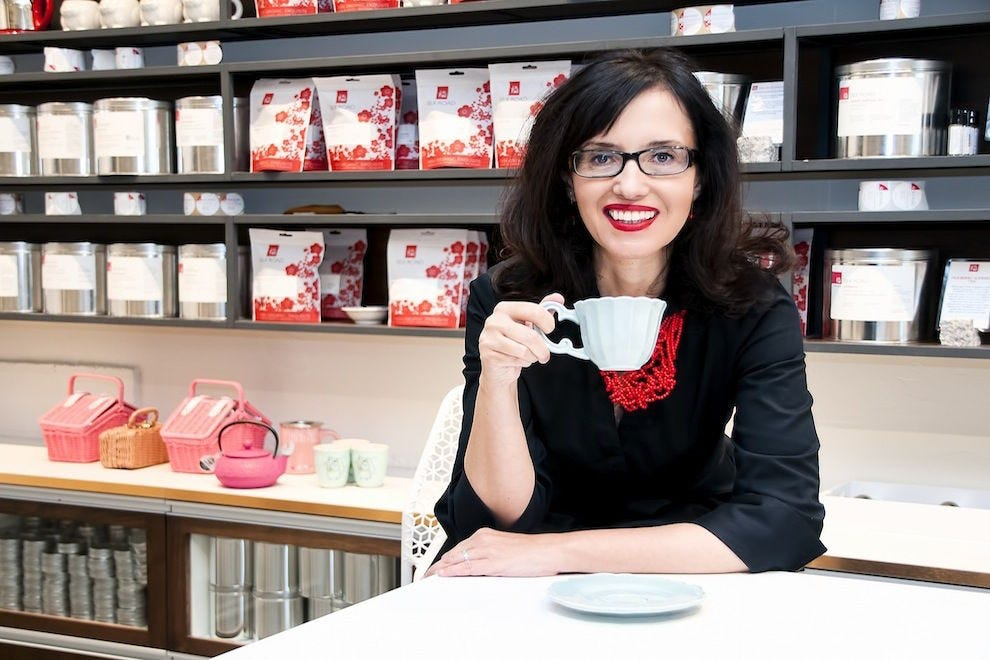 Daniela Cubelic of Silk Road Tea