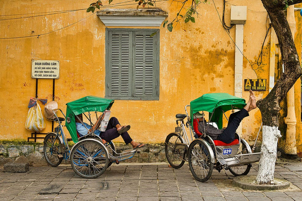Cyclo Drivers at Rest
