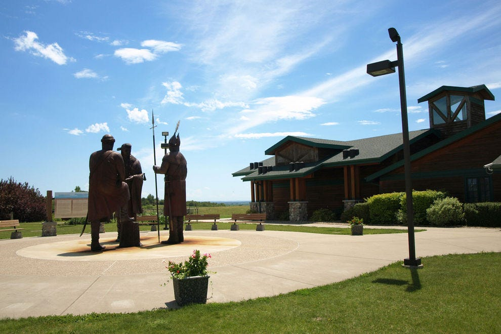 Lewis & Clark Interpretive Center and Fort Mandan