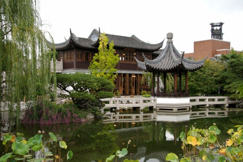 classical chinese garden - Chinese Garden Portland