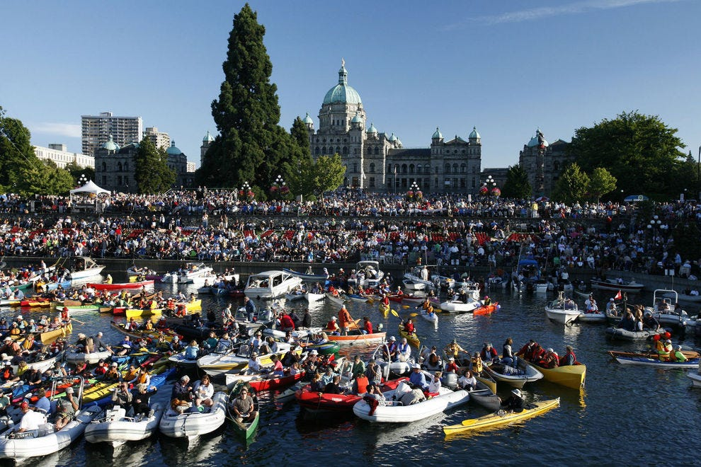 The 28th Victoria Symphony Splash draws thousands of Victoria residents and visitors to the Inner Harbour
