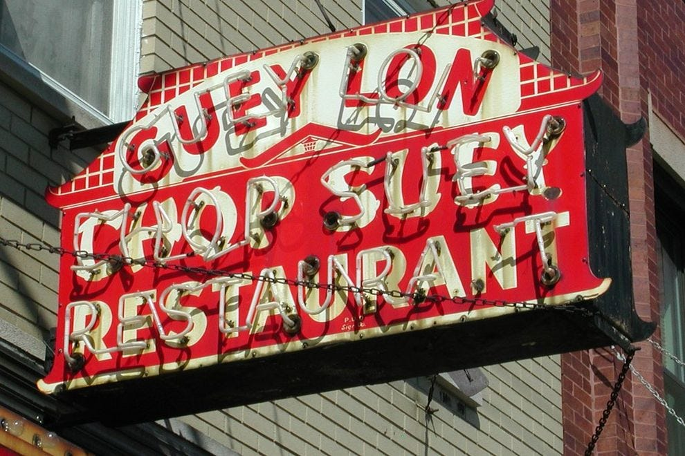Chop suey was the first type of American Chinese food