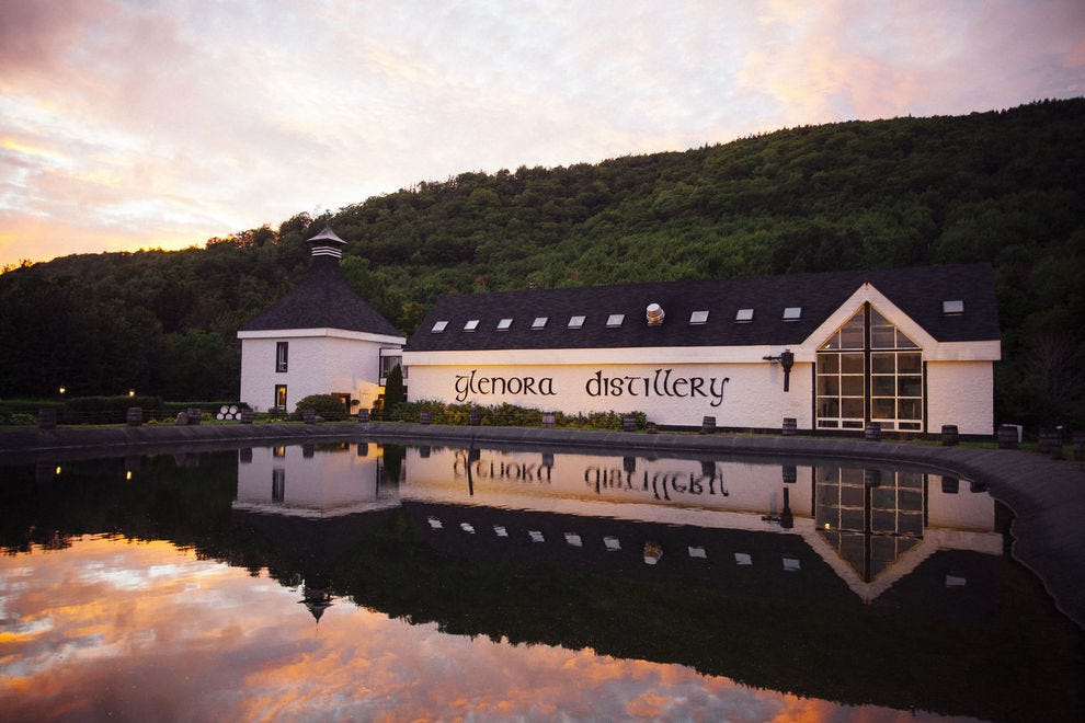 North America's first single-malt whisky distillery