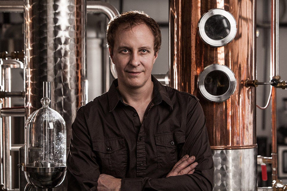 Master distiller and founder Karlo Krauzig