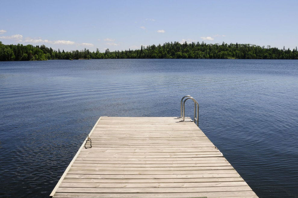 Lake of the Woods has more miles of shoreline than Lake Superior