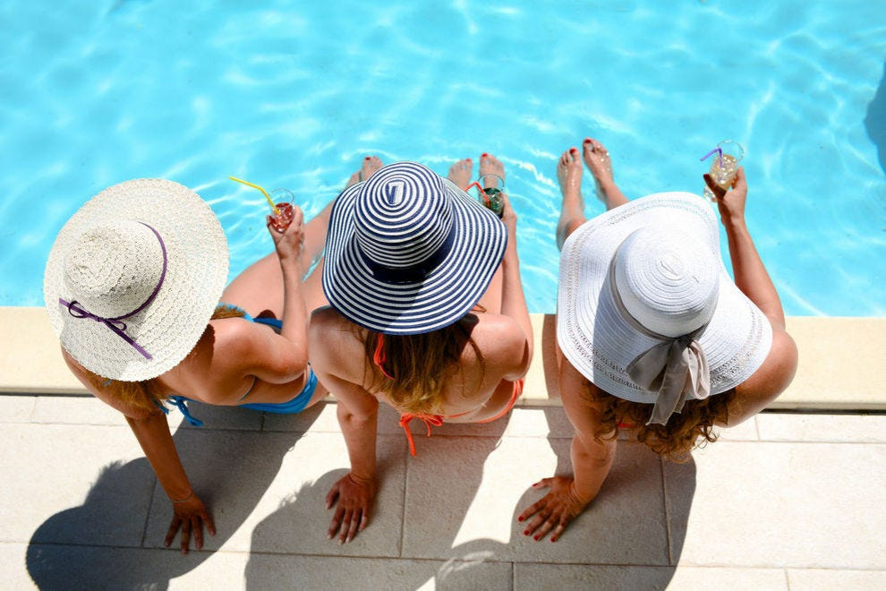 Best hotel pool winners 2017 10best readers 39 choice for Pool and food