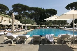 Pool Bar and Chalet, Rome Cavalieri