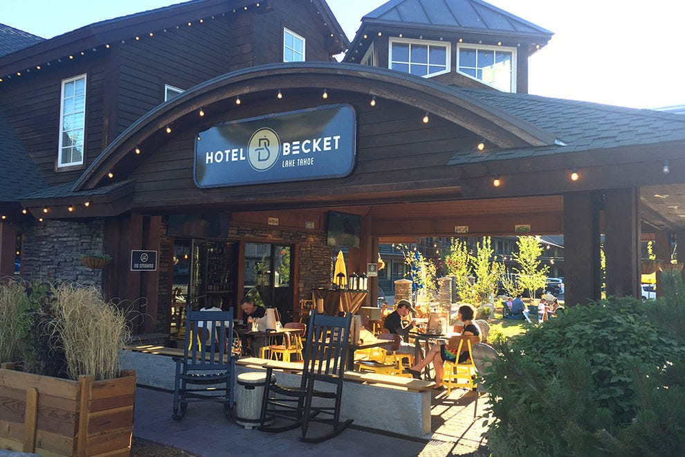 Hotel Becket A Joie De Vivre Hotel Tahoe Hotels Review