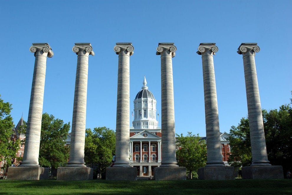 Jesse Hall, University of Missouri, Columbia