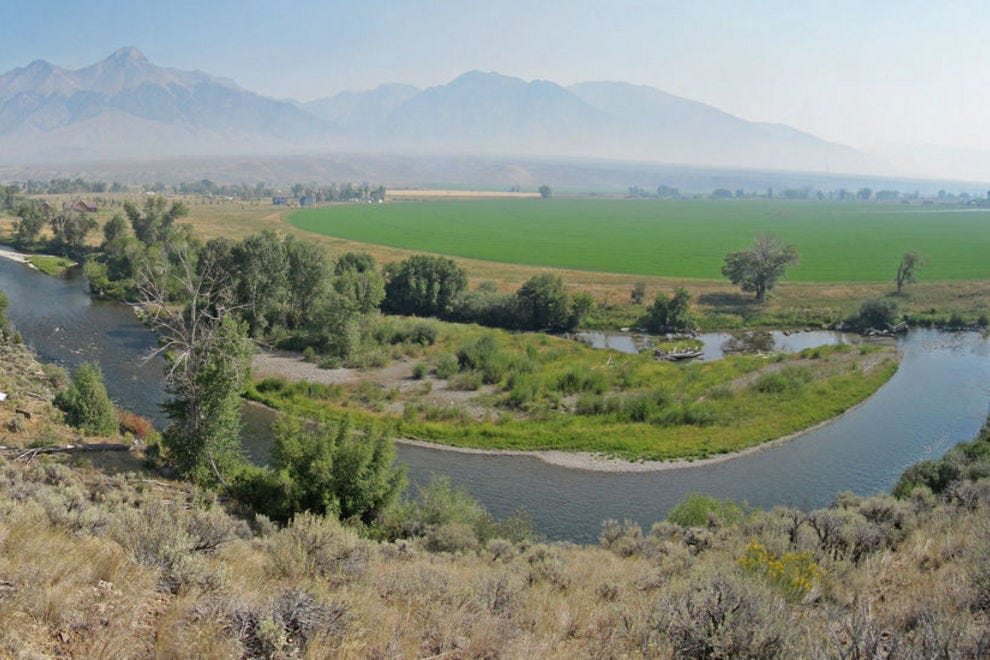 Lost River Valley, west of Mackay, Idaho, A. Hedrick, BLM