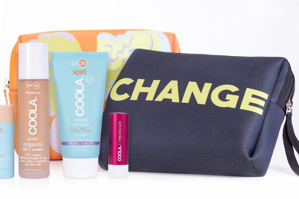 CHANGE Suncare Set from COOLA x Cynthia Rowley
