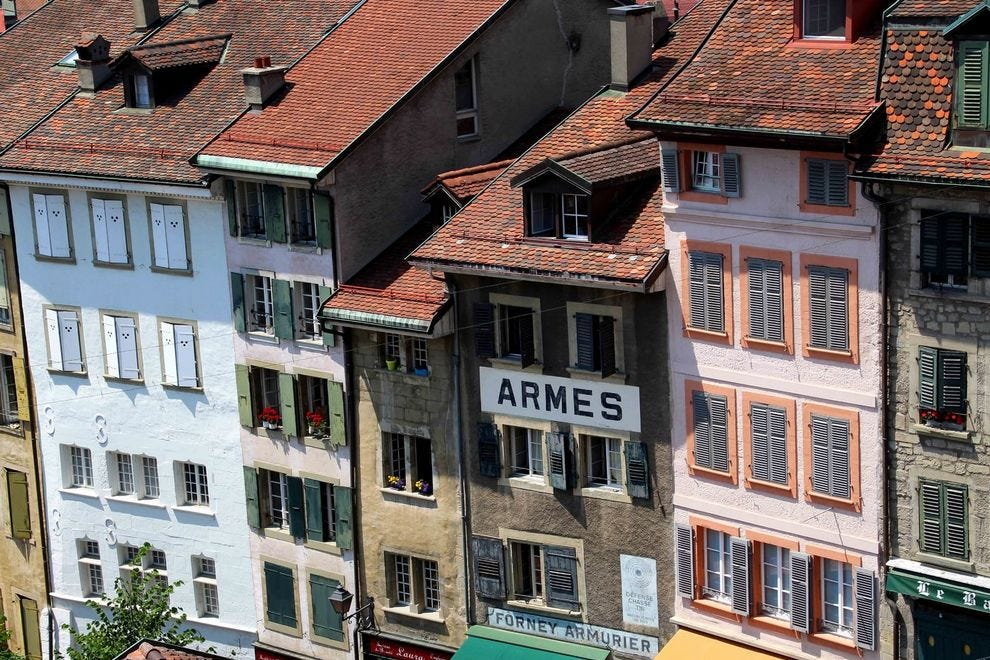 Lausanne, the best of old and new