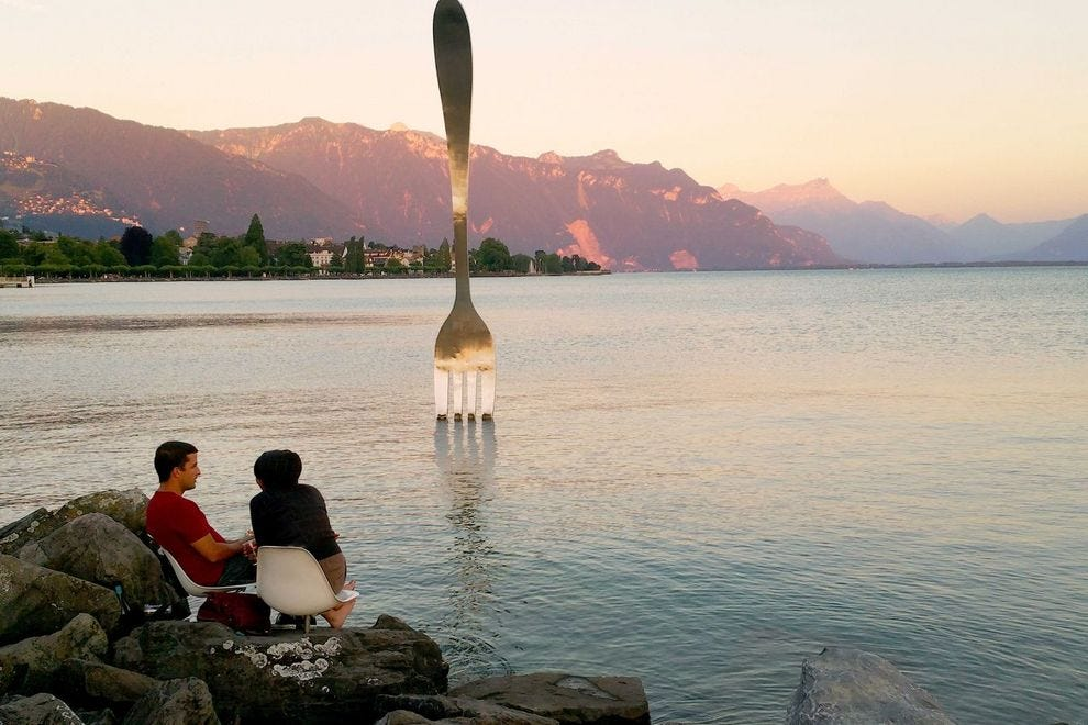 Switzerland's Lake Geneva region is like heaven on earth