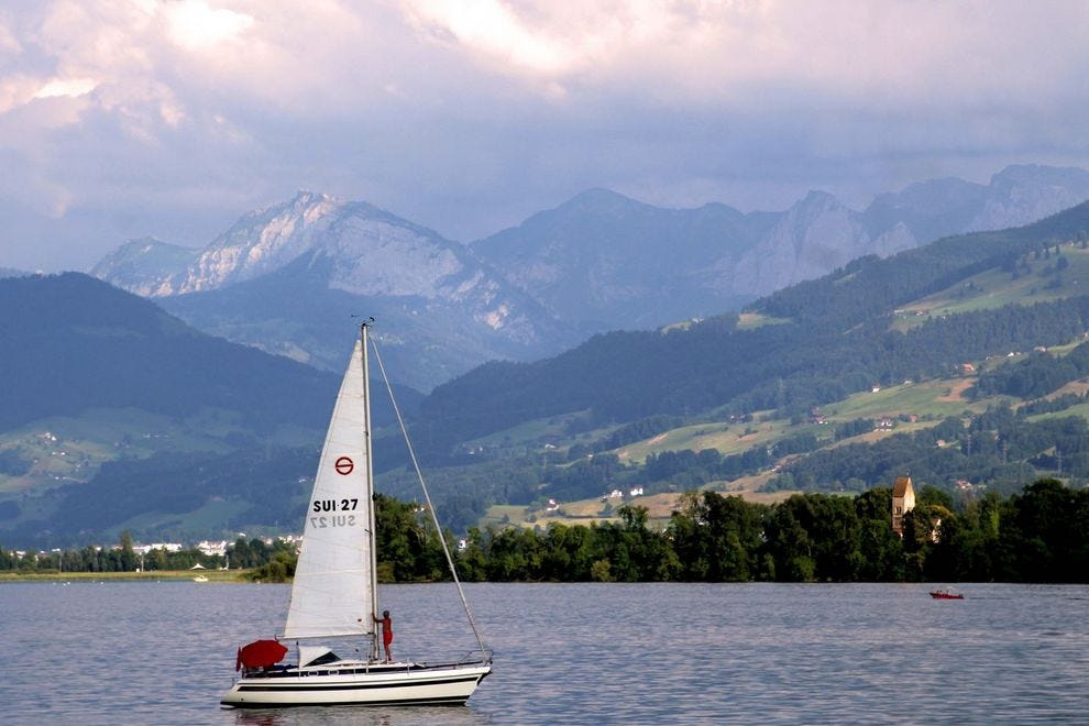 Explore the lake for breathtaking scenery