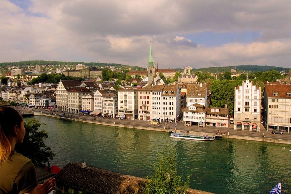 "Zurich, the ""Water City"""
