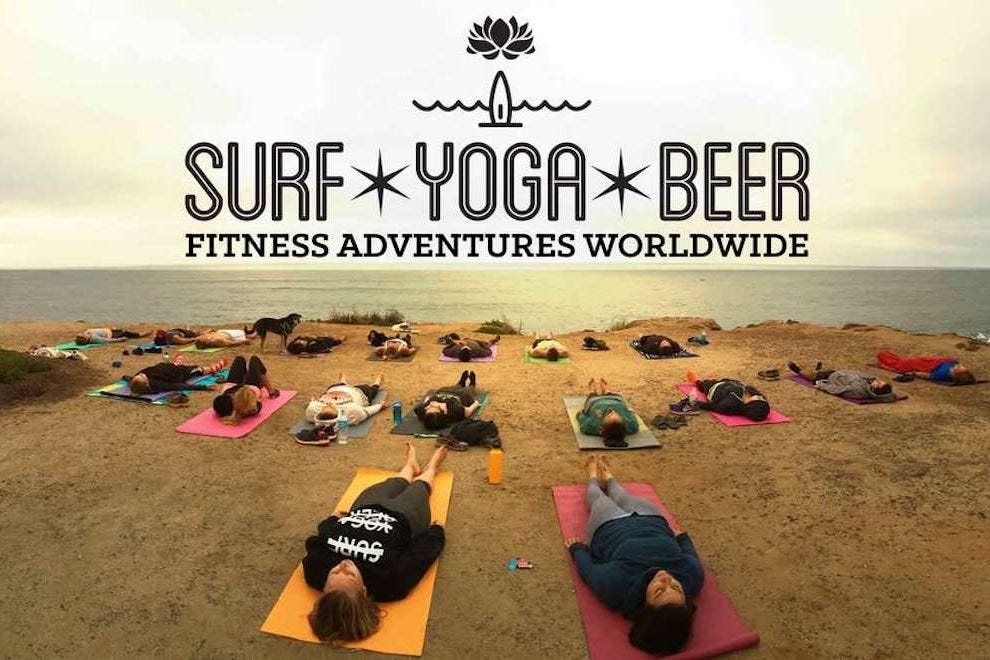 Meditate and imbibe on a fitness adventure