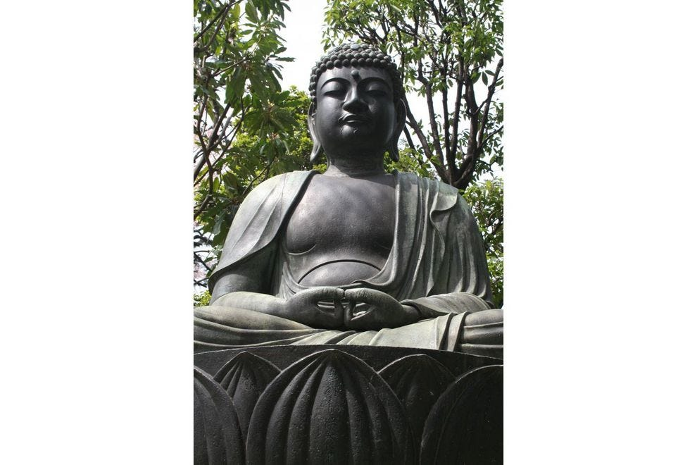Buddha statue in Japan