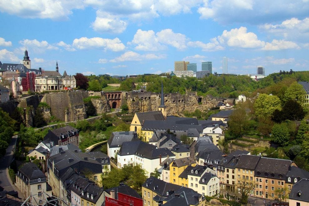 Visit Luxembourg's majestic Old Town